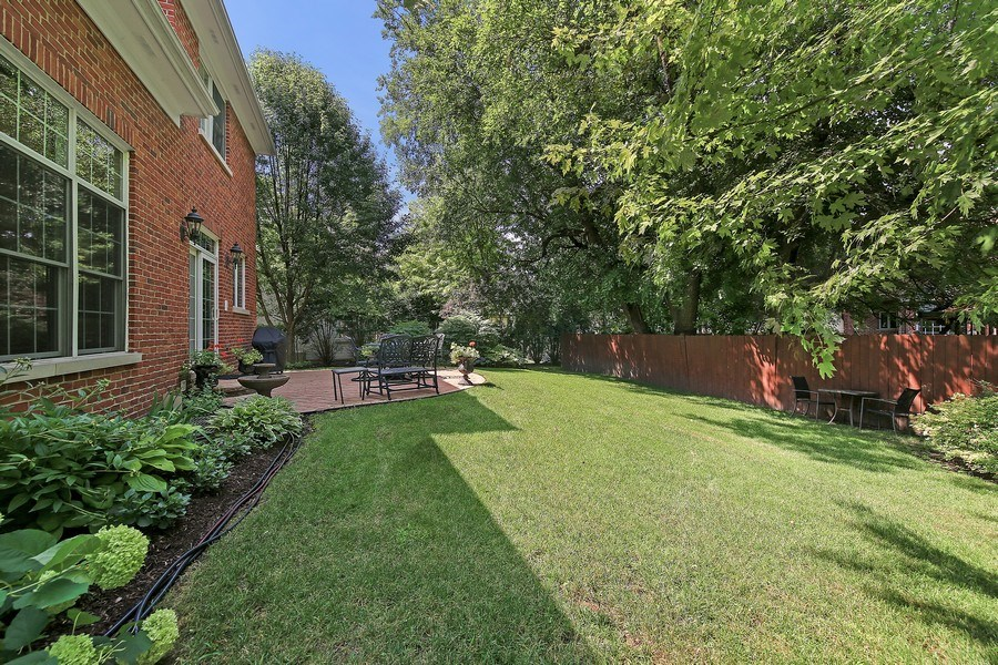 Real Estate Photography - 802 Franklin, Hinsdale, IL, 60521 - Back Yard
