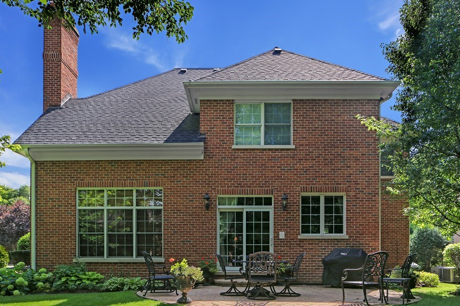Real Estate Photography - 802 Franklin, Hinsdale, IL, 60521 - Rear View