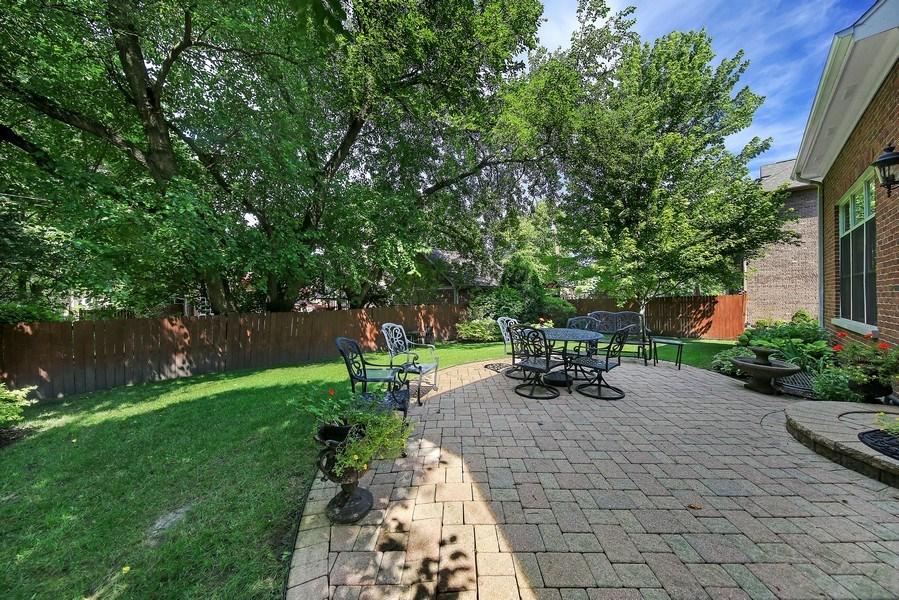 Real Estate Photography - 802 Franklin, Hinsdale, IL, 60521 - Patio