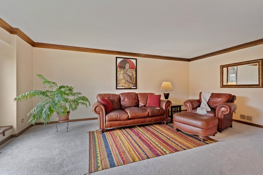 Real Estate Photography - 1952 Sherwood Place, Wheaton, IL, 60189 - Living Room