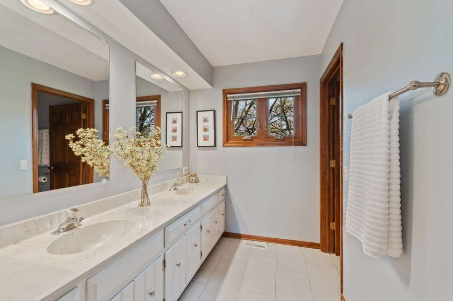 Real Estate Photography - 1952 Sherwood Place, Wheaton, IL, 60189 - 3rd Bathroom