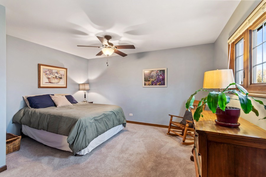 Real Estate Photography - 1952 Sherwood Place, Wheaton, IL, 60189 - 3rd Bedroom