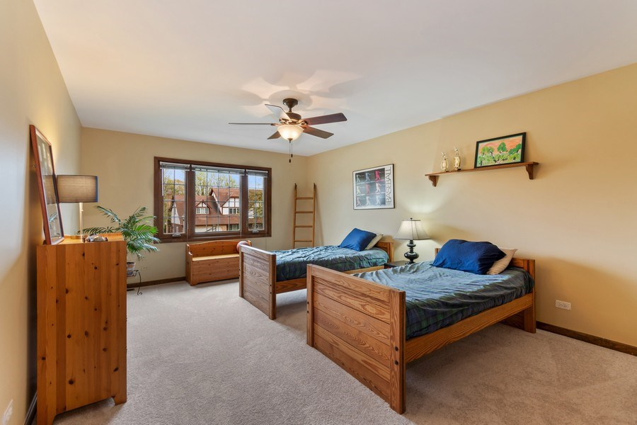 Real Estate Photography - 1952 Sherwood Place, Wheaton, IL, 60189 - 4th Bedroom