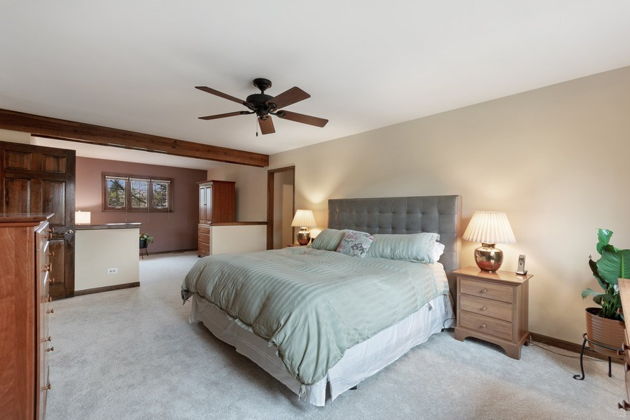 Real Estate Photography - 1952 Sherwood Place, Wheaton, IL, 60189 - Master Bedroom