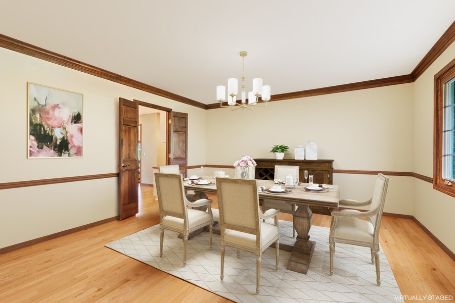 Real Estate Photography - 1952 Sherwood Place, Wheaton, IL, 60189 - Dining Room
