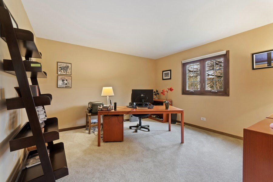Real Estate Photography - 1952 Sherwood Place, Wheaton, IL, 60189 - Den