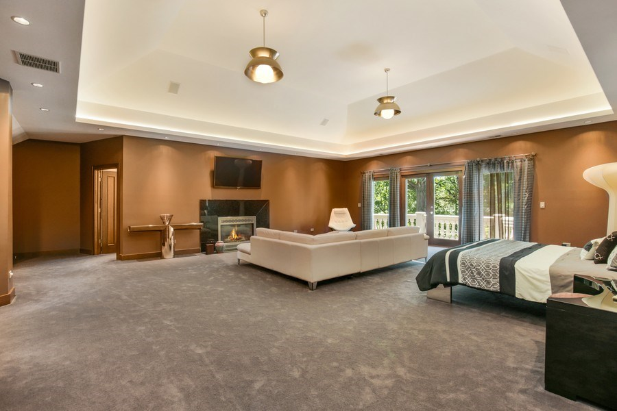 Real Estate Photography - 33W295 Surrey Rd, Wayne, IL, 60184 - Master Bedroom