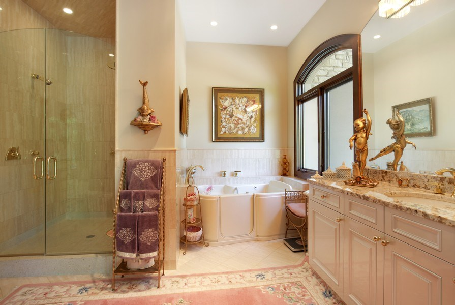 Real Estate Photography - 33W295 Surrey Rd, Wayne, IL, 60184 - Bathroom