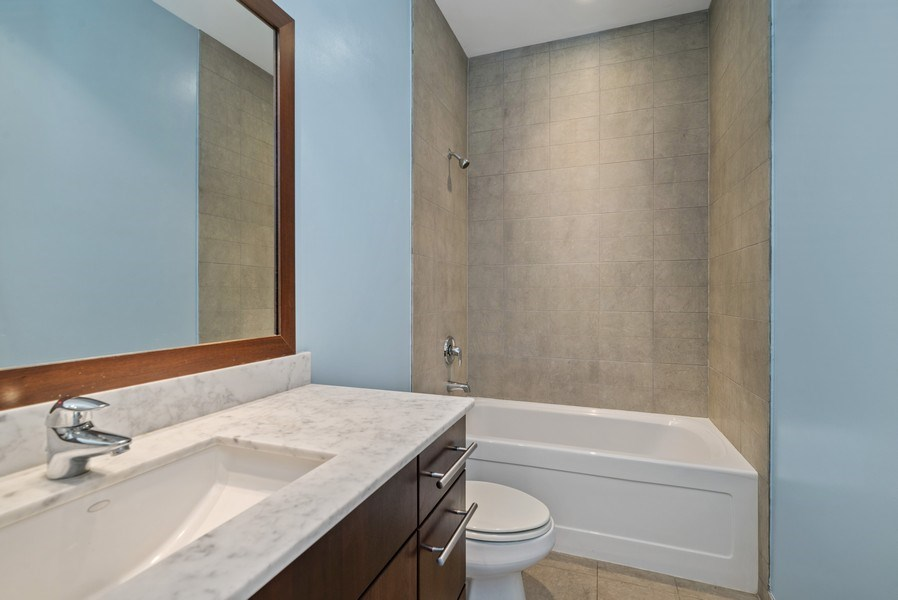 Real Estate Photography - 2419 W Superior St, Chicago, IL, 60612 - 3rd Bathroom