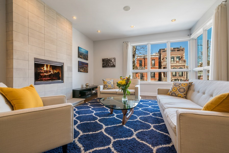 Real Estate Photography - 2419 W Superior St, Chicago, IL, 60612 - Living Room