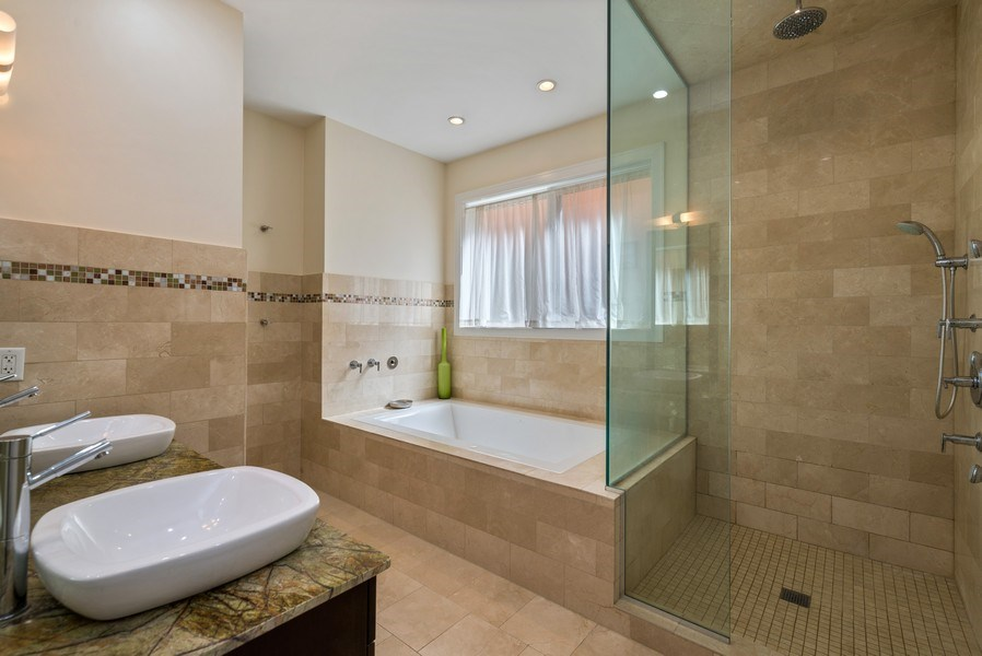 Real Estate Photography - 2419 W Superior St, Chicago, IL, 60612 - Master Bathroom