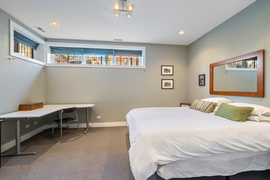 Real Estate Photography - 2419 W Superior St, Chicago, IL, 60612 - 2nd Bedroom