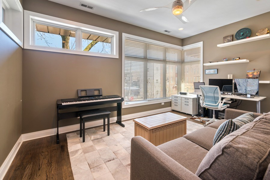 Real Estate Photography - 2419 W Superior St, Chicago, IL, 60612 - 3rd Bedroom