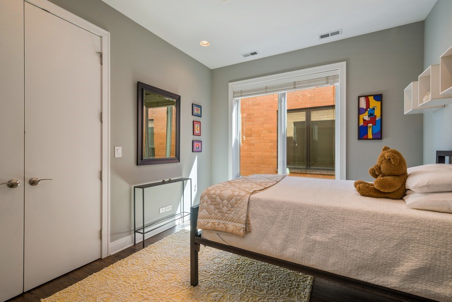Real Estate Photography - 2419 W Superior St, Chicago, IL, 60612 - 4th Bedroom