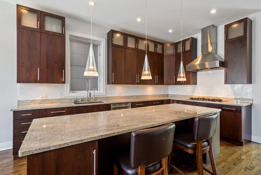 Real Estate Photography - 2419 W Superior St, Chicago, IL, 60612 - Kitchen