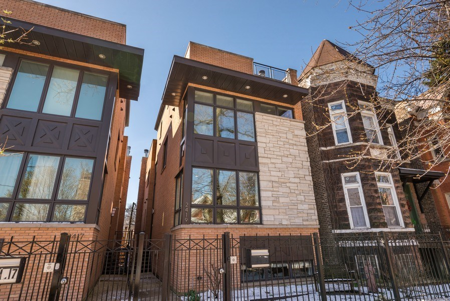 Real Estate Photography - 2419 W Superior St, Chicago, IL, 60612 - Front View