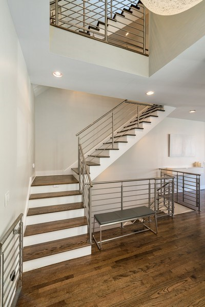 Real Estate Photography - 2419 W Superior St, Chicago, IL, 60612 - Staircase