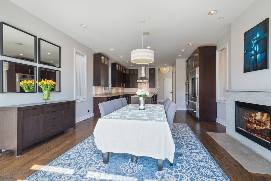 Real Estate Photography - 2419 W Superior St, Chicago, IL, 60612 - Kitchen/Dining