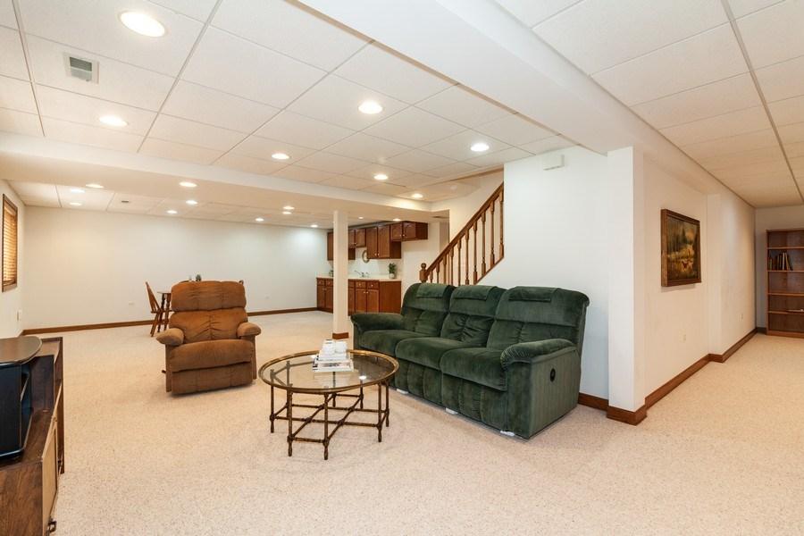 Real Estate Photography - 10 Tartan Ridge Rd, Burr Ridge, IL, 60527 - Recreation Room