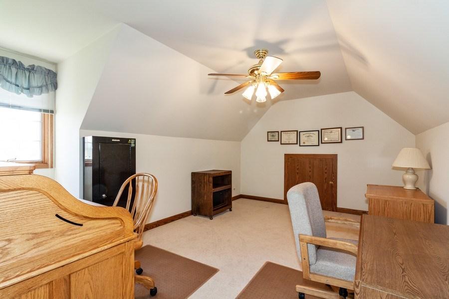 Real Estate Photography - 10 Tartan Ridge Rd, Burr Ridge, IL, 60527 - Den