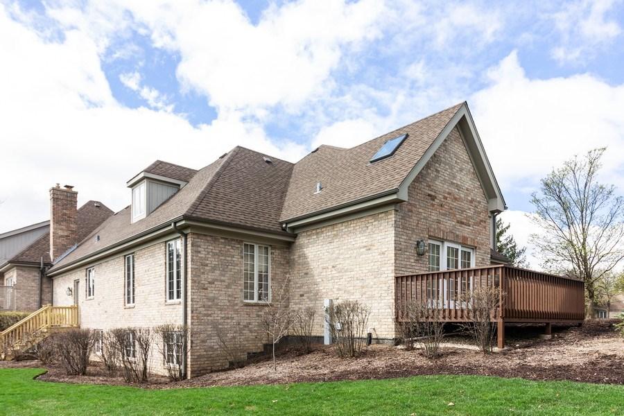 Real Estate Photography - 10 Tartan Ridge Rd, Burr Ridge, IL, 60527 - Side View