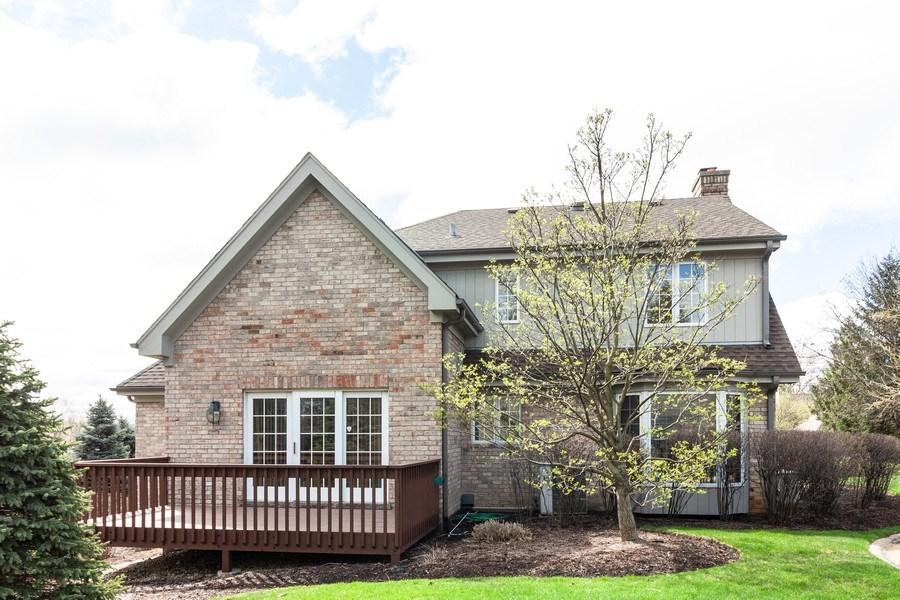Real Estate Photography - 10 Tartan Ridge Rd, Burr Ridge, IL, 60527 - Rear View