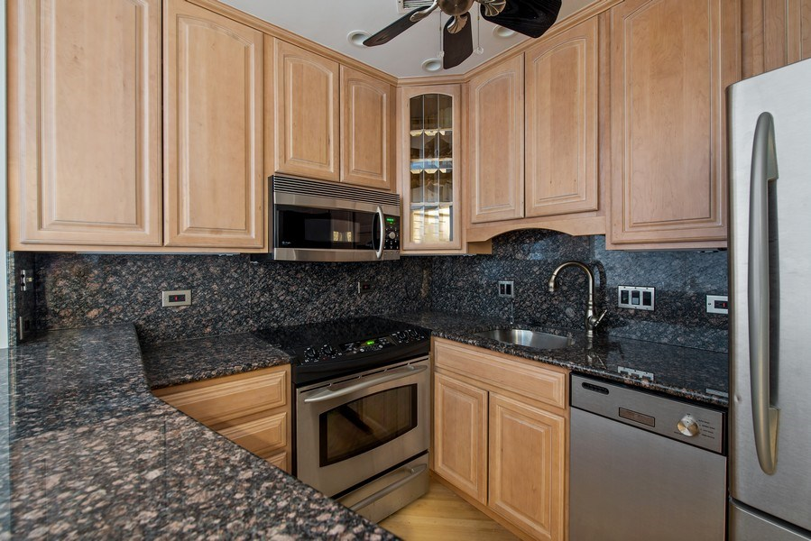 Real Estate Photography - 1030 N State, Chicago, IL, 60610 - Kitchen