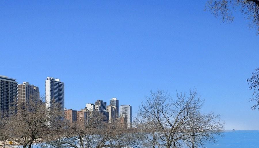 Real Estate Photography - 999 N. Lake Shore, 2A, Chicago, IL, 60611 - Lake Michigan View