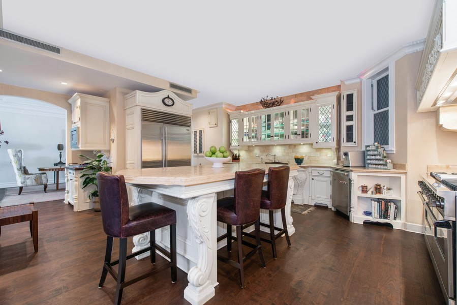 Real Estate Photography - 999 N. Lake Shore, 2A, Chicago, IL, 60611 - Chef's Kitchen Another View