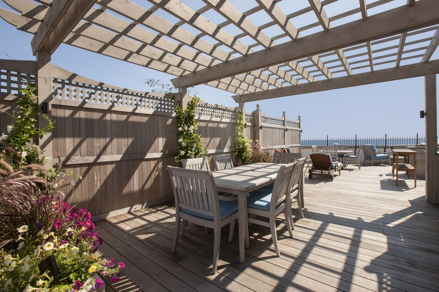 Real Estate Photography - 999 N. Lake Shore, 2A, Chicago, IL, 60611 - Rooftop Terrace