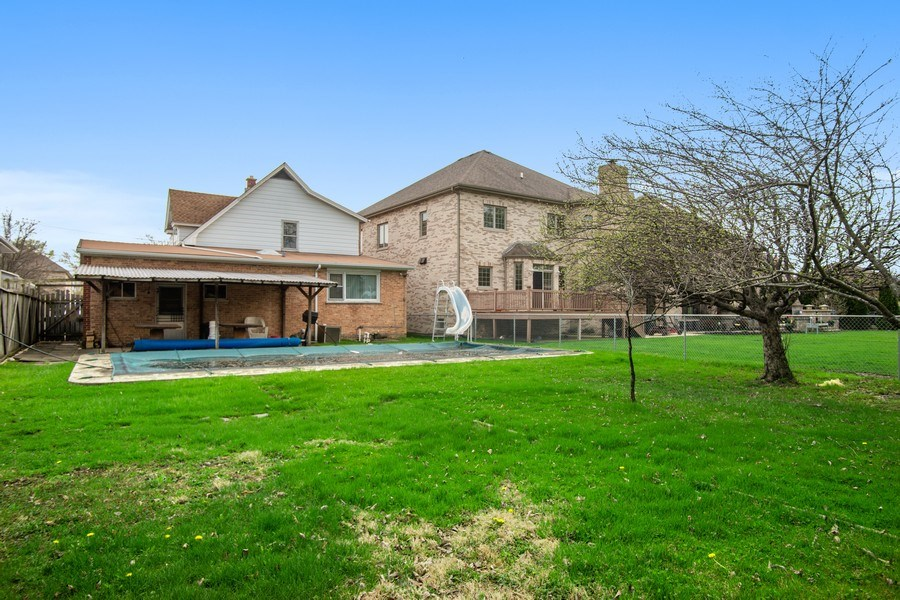 Real Estate Photography - 8632 Stolting Rd., Niles, IL, 60714 - Rear View