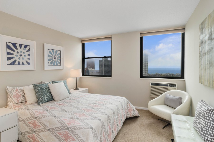 Real Estate Photography - 2700 N Hampden Ct, 21B, Chicago, IL, 60614 - 2nd Bedroom