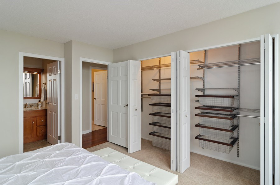 Real Estate Photography - 2700 N Hampden Ct, 21B, Chicago, IL, 60614 - Master Bedroom