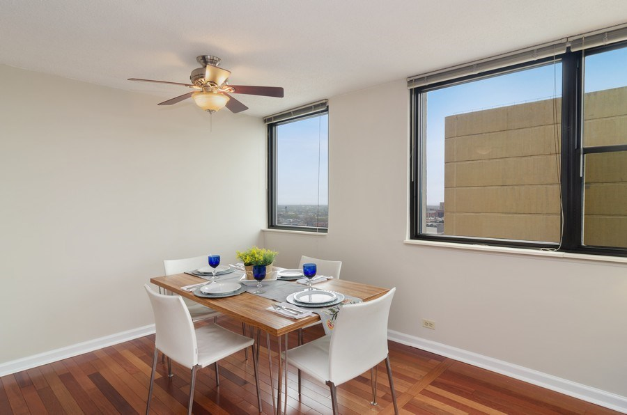 Real Estate Photography - 2700 N Hampden Ct, 21B, Chicago, IL, 60614 - Dining Room