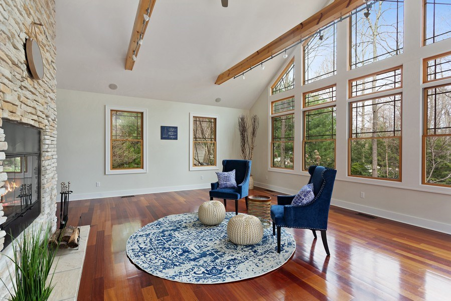 Real Estate Photography - 16204 Quality Ln, Union Pier, MI, 49129 - Living Room