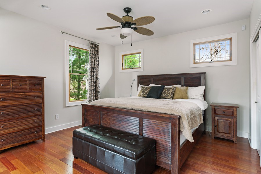 Real Estate Photography - 16204 Quality Ln, Union Pier, MI, 49129 - Master Bedroom