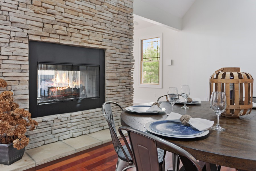 Real Estate Photography - 16204 Quality Ln, Union Pier, MI, 49129 - Dining Room