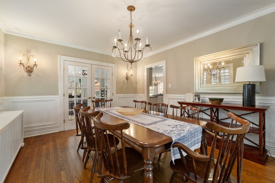Real Estate Photography - 330 Radcliffe Way, Hinsdale, IL, 60521 - Dining Room