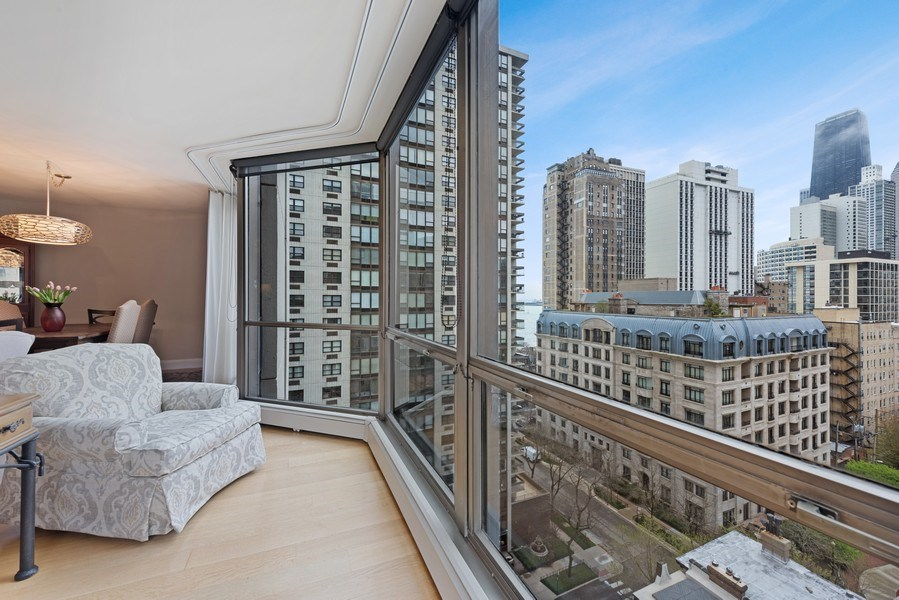 Real Estate Photography - 1310 N Ritchie Ct #14B, Chicago, IL, 60601 - City View