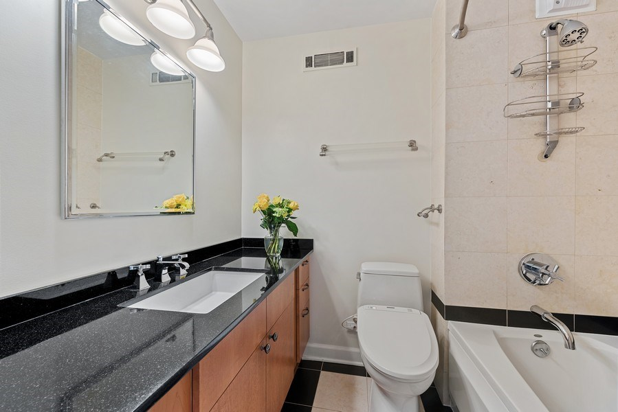 Real Estate Photography - 1310 N Ritchie Ct #14B, Chicago, IL, 60601 - Master Bathroom