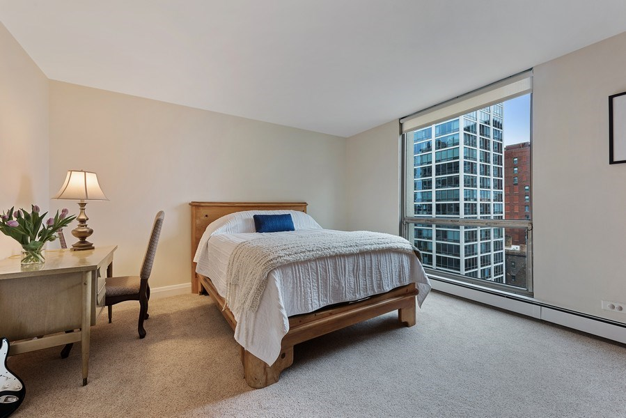 Real Estate Photography - 1310 N Ritchie Ct #14B, Chicago, IL, 60601 - 2nd Bedroom