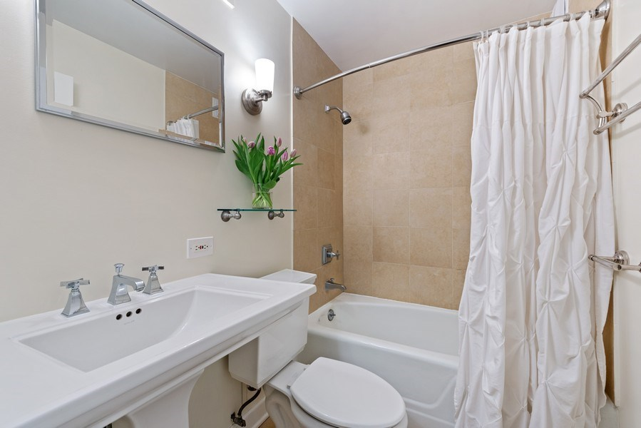 Real Estate Photography - 1310 N Ritchie Ct #14B, Chicago, IL, 60601 - 2nd Bathroom