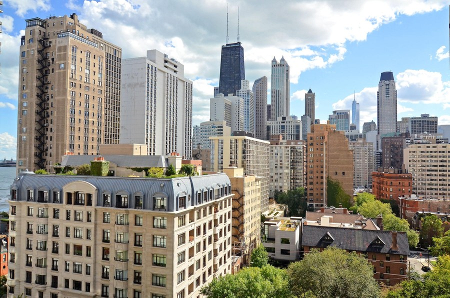 Real Estate Photography - 1310 N Ritchie Ct #14B, Chicago, IL, 60601 - South View