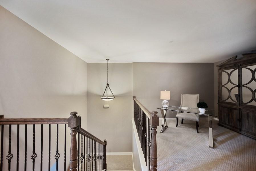 Real Estate Photography - 131 W. Adelaide, 107, Elmhurst, IL, 60126 - Loft office