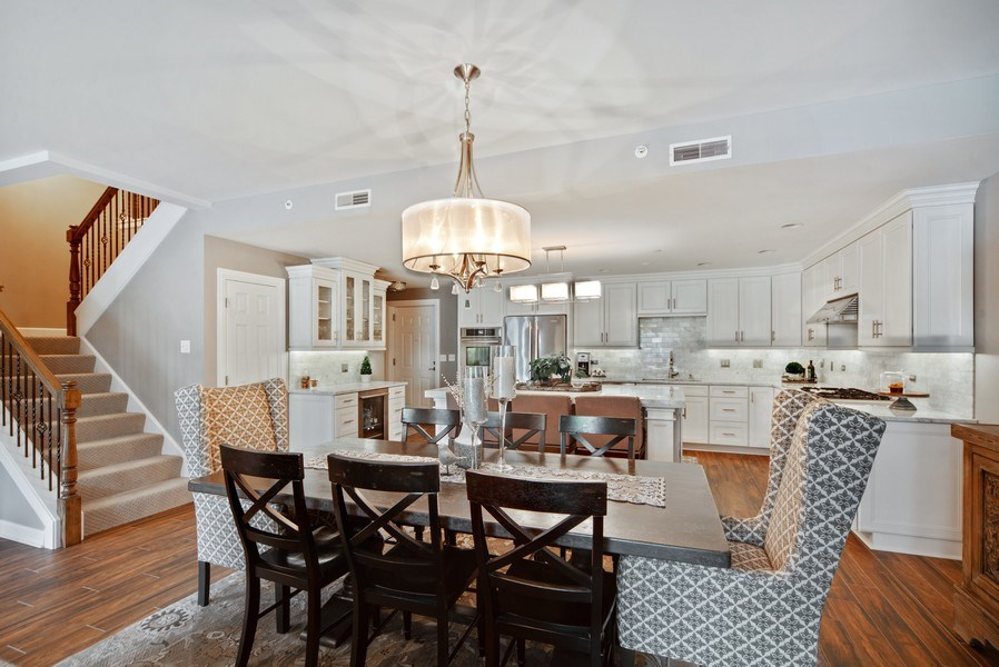 Real Estate Photography - 131 W. Adelaide, 107, Elmhurst, IL, 60126 - Kitchen/Dining