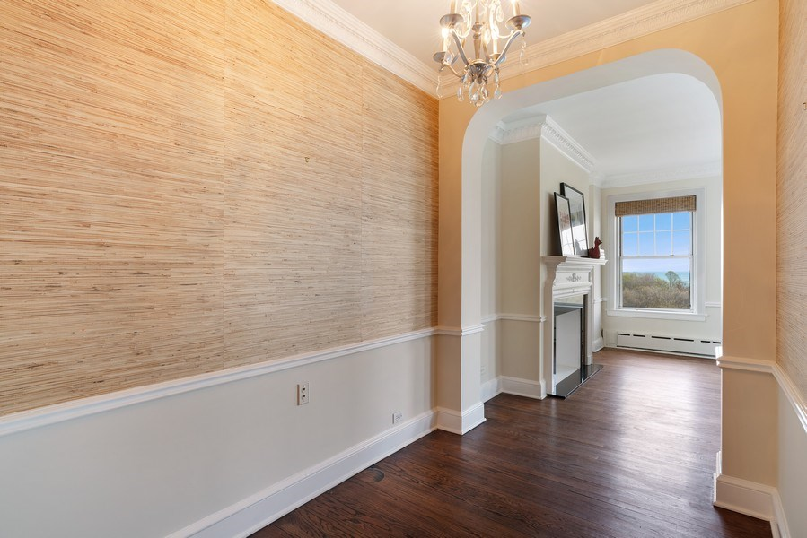 Real Estate Photography - 3520 N Lake Shore Dr, 9F, Chicago, IL, 60657 - Foyer