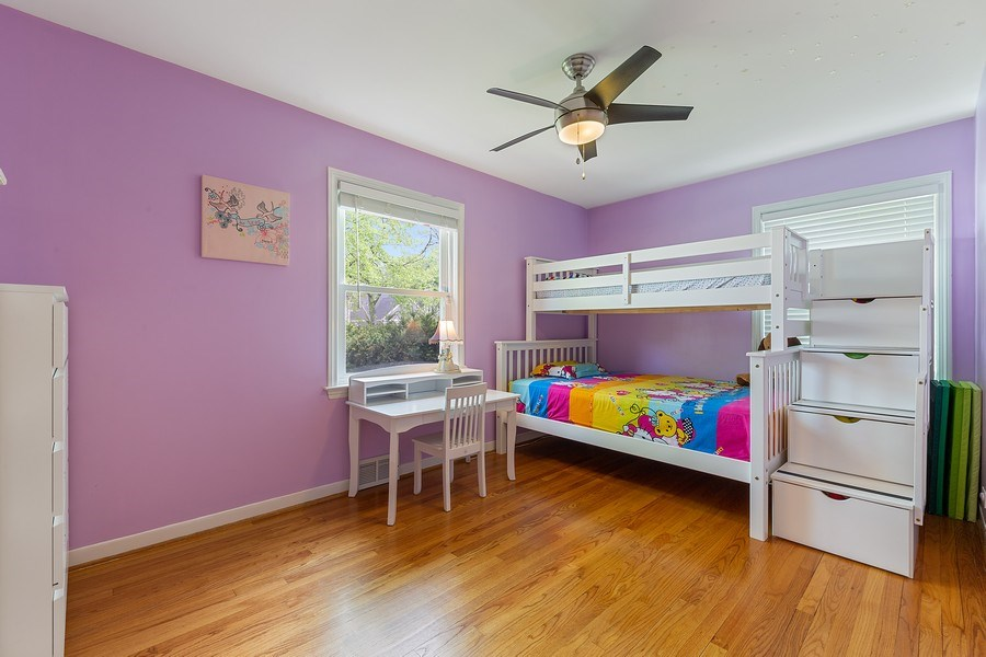 Real Estate Photography - 4084 Garden Ave., Western Springs, IL, 60558 - 2nd Bedroom