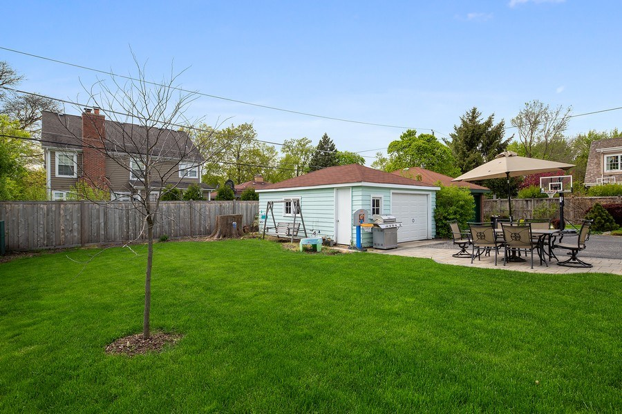 Real Estate Photography - 4084 Garden Ave., Western Springs, IL, 60558 - Back Yard