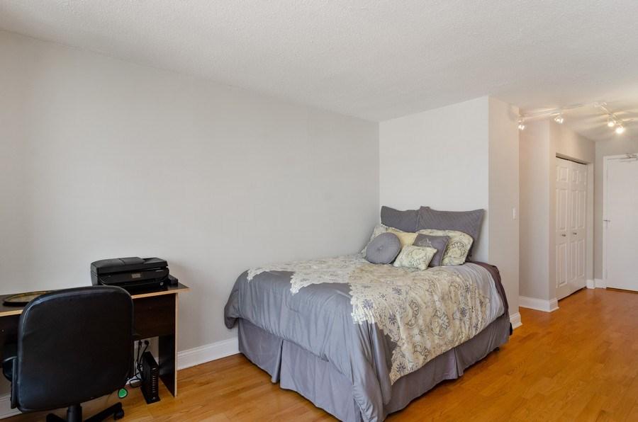 Real Estate Photography - 450 W Briar Pl, Unit 5E, Chicago, IL, 60657 - Bedroom