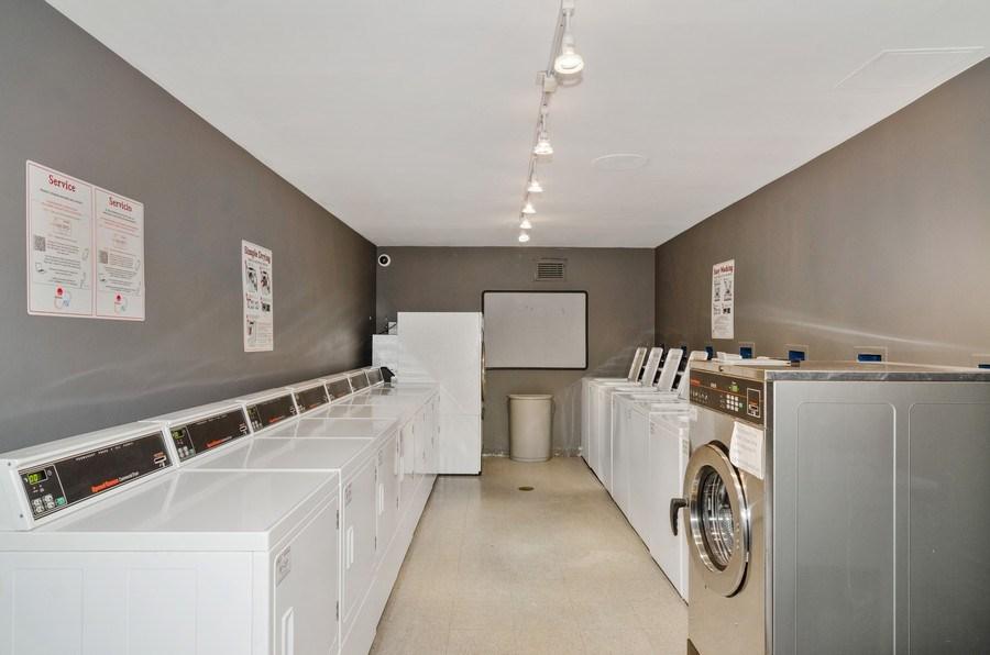 Real Estate Photography - 450 W Briar Pl, Unit 5E, Chicago, IL, 60657 - Laundry Room